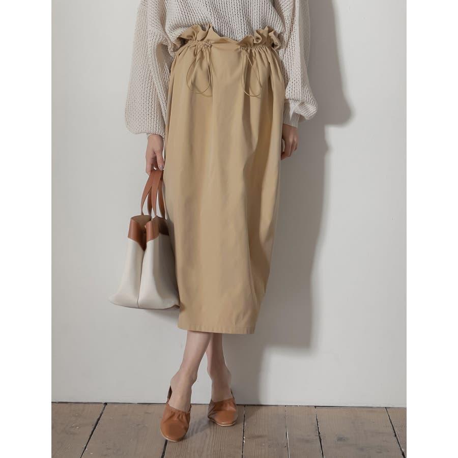 上品さとカジュアル感のバランスが嬉しい旬ボトム シャークスキンドロストタイトスカート スカート/スカート 41