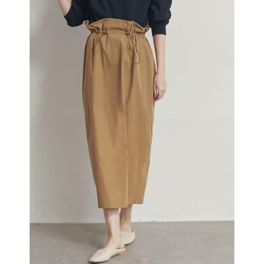 上品さとカジュアル感のバランスが嬉しい旬ボトム シャークスキンドロストタイトスカート スカート/スカート 6