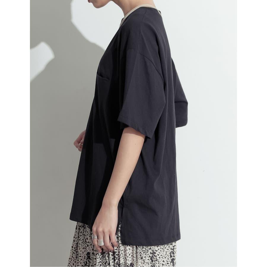 たっぷりの「余裕」が嬉しい大人のビッグTシャツ オーバーサイズ半袖カットソー 6