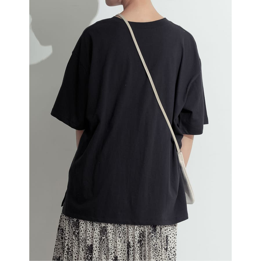 たっぷりの「余裕」が嬉しい大人のビッグTシャツ オーバーサイズ半袖カットソー 7