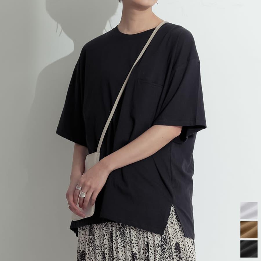たっぷりの「余裕」が嬉しい大人のビッグTシャツ オーバーサイズ半袖カットソー 1