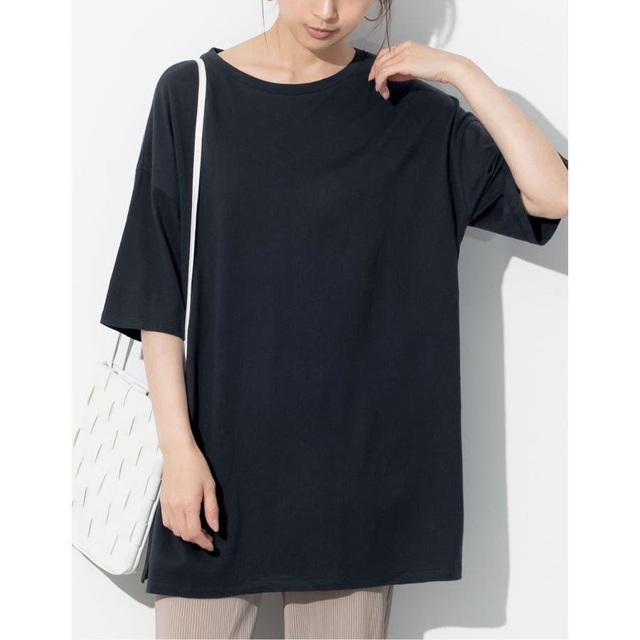 ありのままのラフさが魅力。たっぷりシルエットのオーバーサイズTシャツオーバーサイ… 5