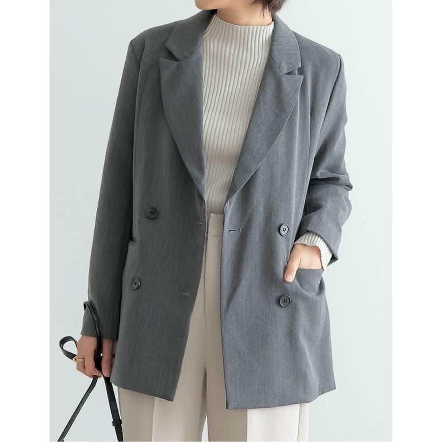 マニッシュスタイルにも繊細で上品なテーラードジャケット 26