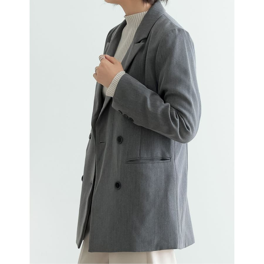 マニッシュスタイルにも繊細で上品なテーラードジャケット 5