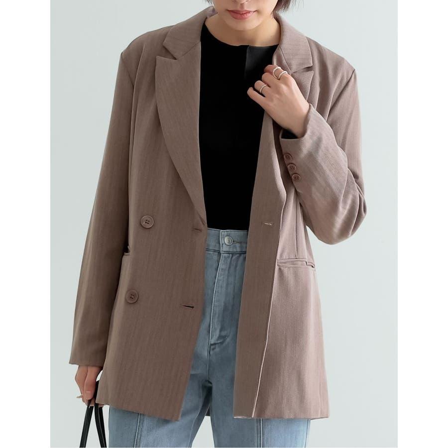 マニッシュスタイルにも繊細で上品なテーラードジャケット 6