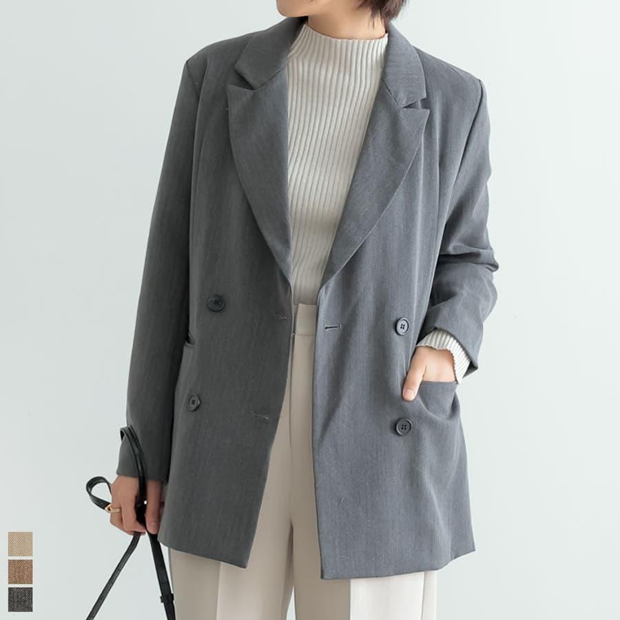 マニッシュスタイルにも繊細で上品なテーラードジャケット 1