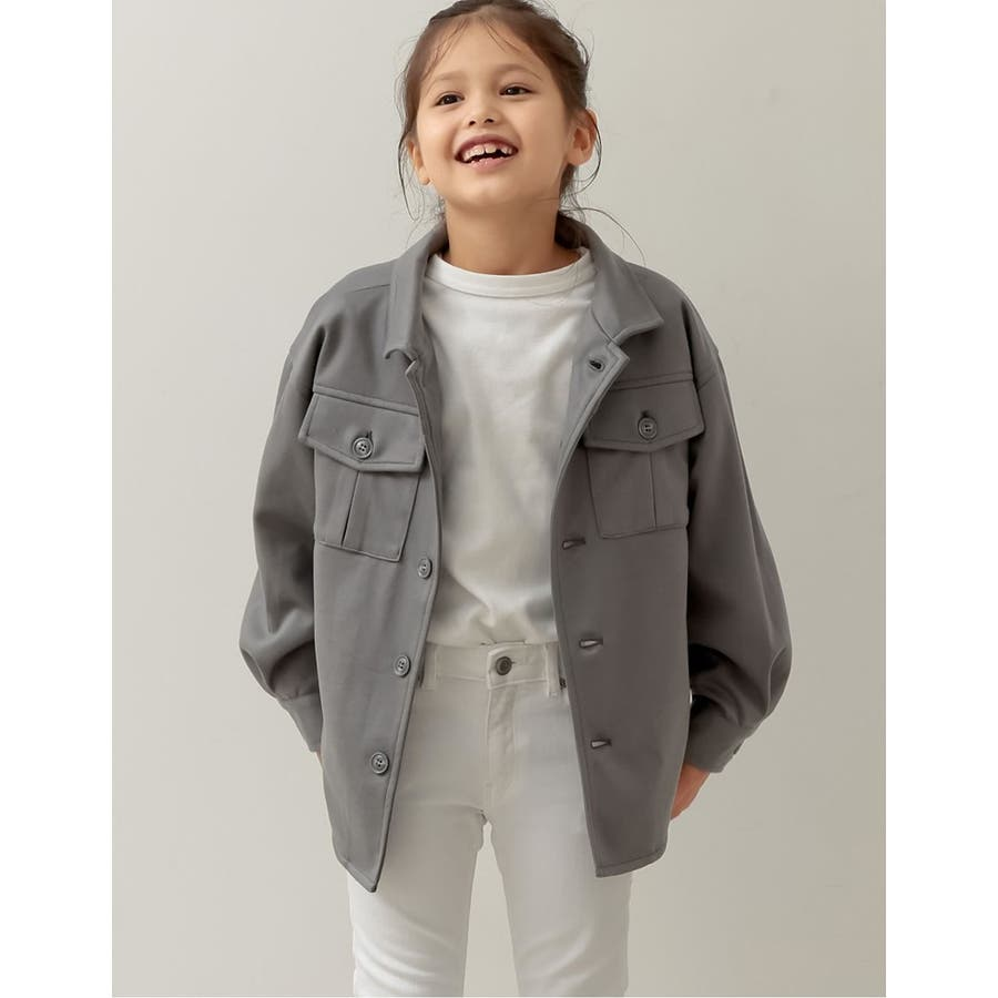 ユニセックスで着用できるサステナブルでスタイリッシュなキッズジャケットあったか表… 26