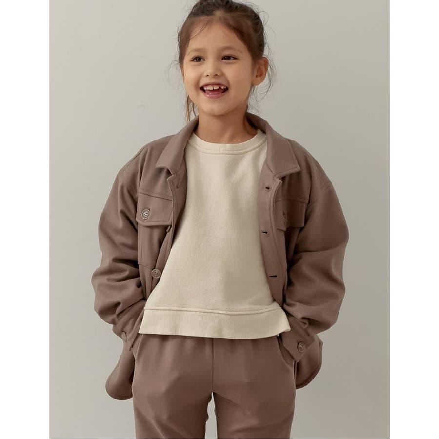 ユニセックスで着用できるサステナブルでスタイリッシュなキッズジャケットあったか表… 35