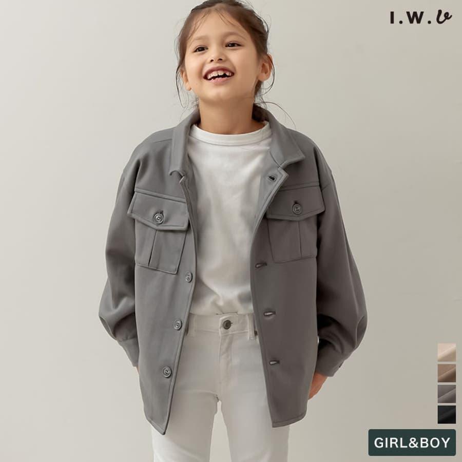 ユニセックスで着用できるサステナブルでスタイリッシュなキッズジャケットあったか表… 1