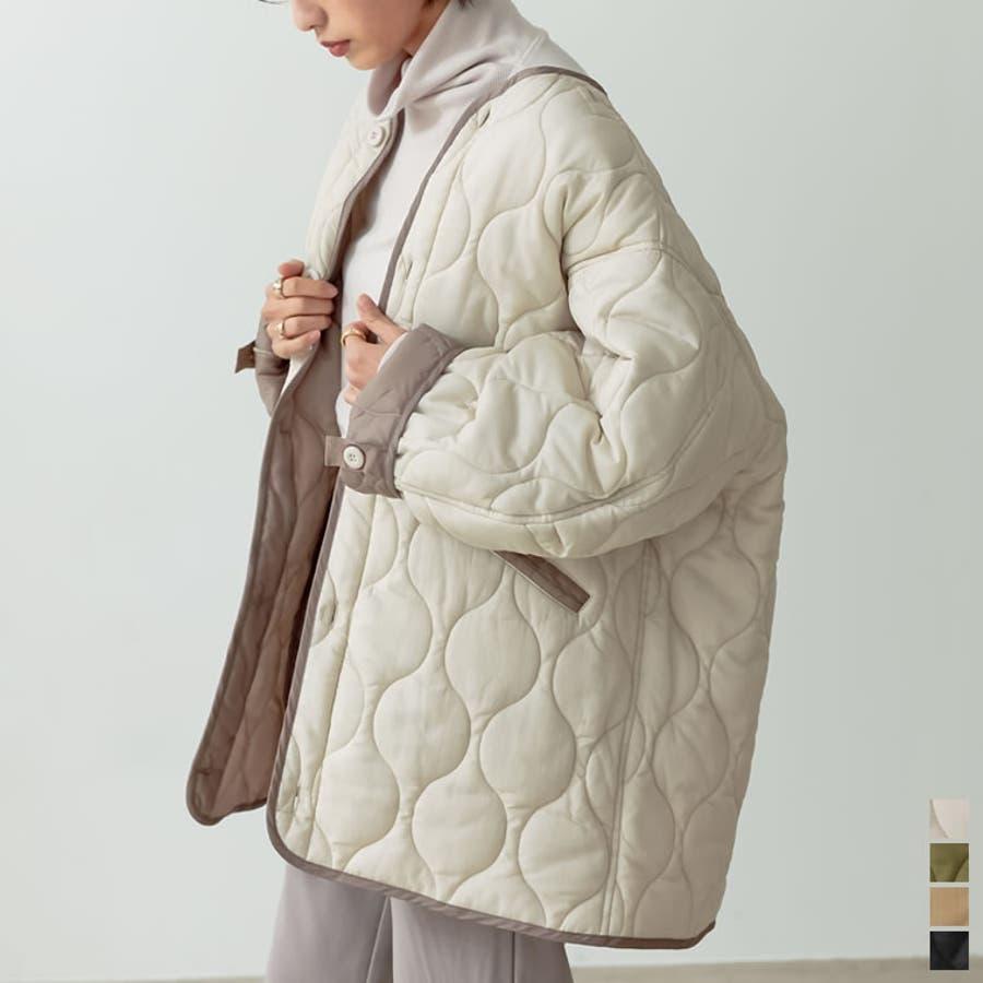あったか軽量キルティングジャケット 1
