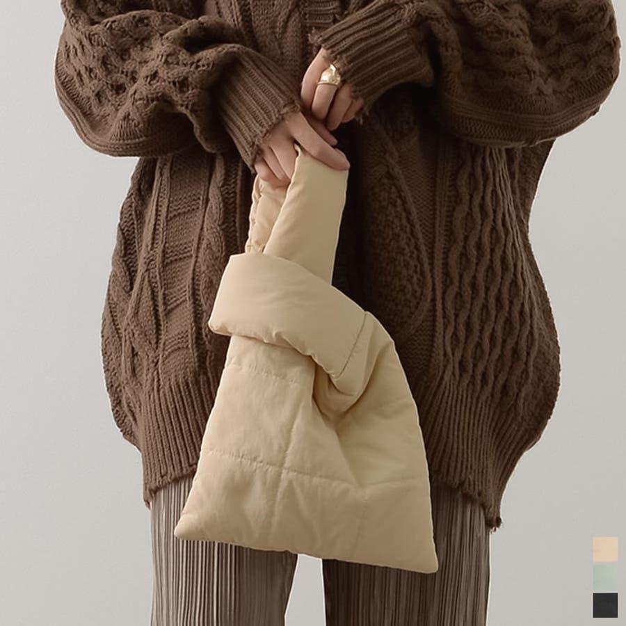 ふわっと軽いハンドバッグ キルティングハンドバッグ バッグ 1