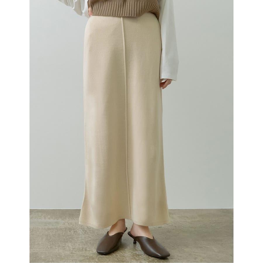 カジュアル×エレガントなミラノリブニットタイトスカート 6