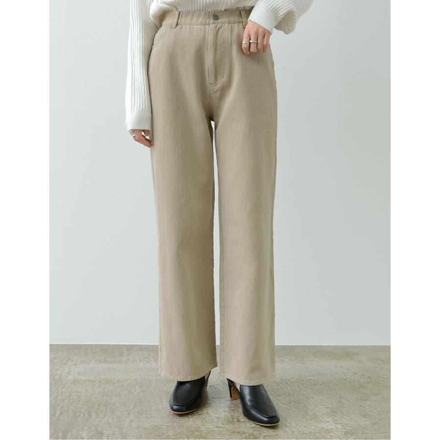 ほどよいルーズさがトレンドライクな綺麗色パンツ 41