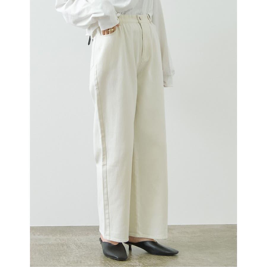 ほどよいルーズさがトレンドライクな綺麗色パンツ 6