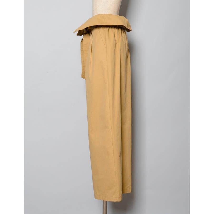 着こなしの主役アイテムにマストな最旬デザイン ハイライズウエストリボンワイドパンツ ボトムス/パンツ/ワイドパンツ・ガウチョパンツ 6
