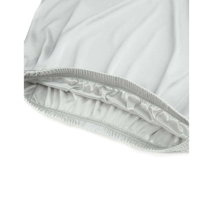 インナースカート ストレッチ ウエストゴム ペチコート オリジナル レディース CHICMUSE オフィス 6