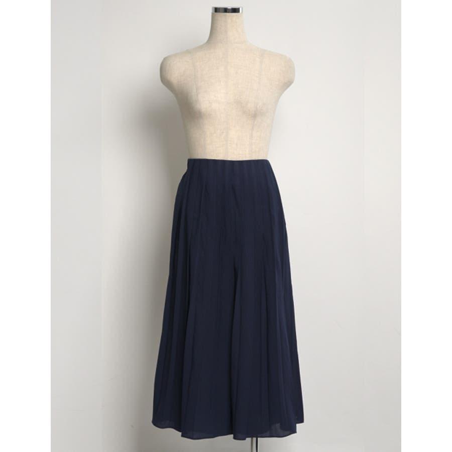 遊び心のあるデザインでトレンドライクに。 プリーツ巻きスカート風ガウチョパンツ ボトムス/パンツ/ワイドパンツ・ガウチョパンツ 7