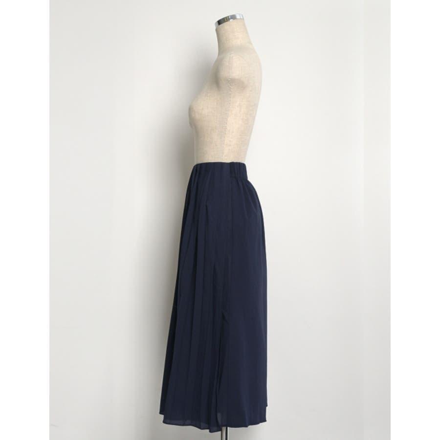 遊び心のあるデザインでトレンドライクに。 プリーツ巻きスカート風ガウチョパンツ ボトムス/パンツ/ワイドパンツ・ガウチョパンツ 8