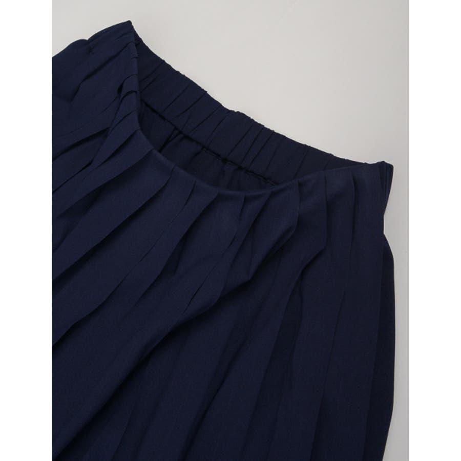 遊び心のあるデザインでトレンドライクに。 プリーツ巻きスカート風ガウチョパンツ ボトムス/パンツ/ワイドパンツ・ガウチョパンツ 10