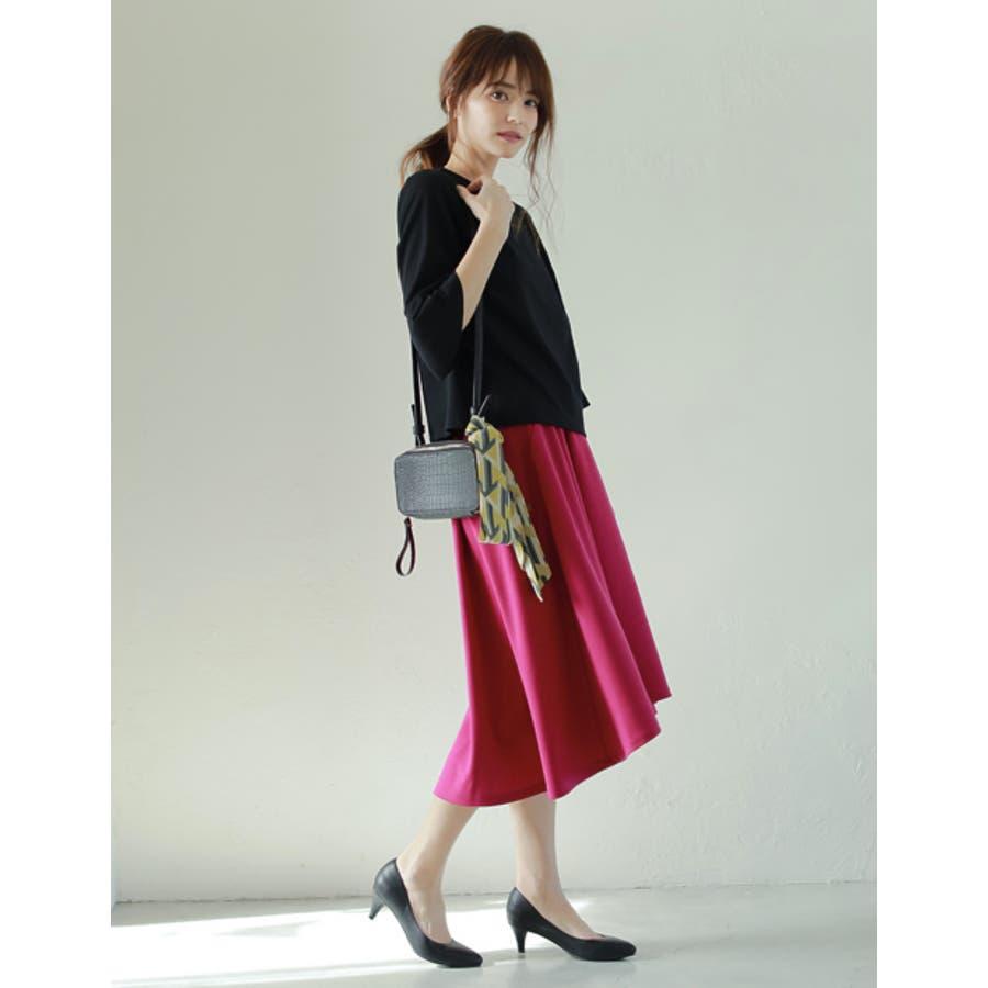 バッグや首もとのアクセントに マルチパターン柄スカーフ グッズ 4