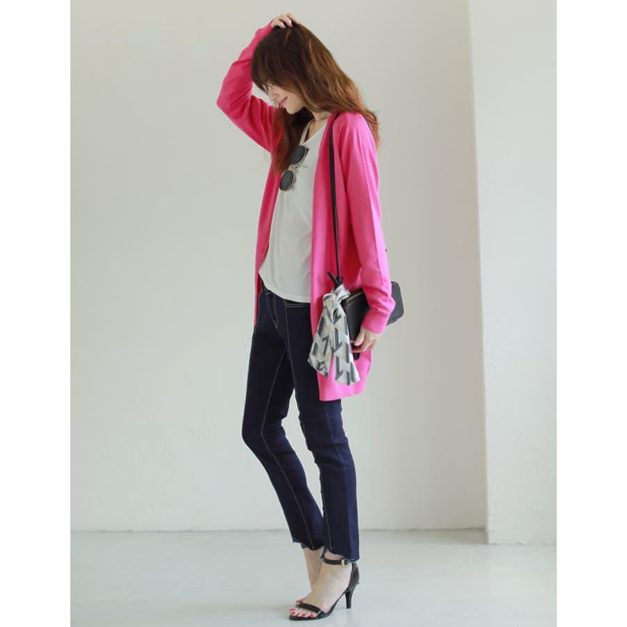 バッグや首もとのアクセントに マルチパターン柄スカーフ グッズ 5
