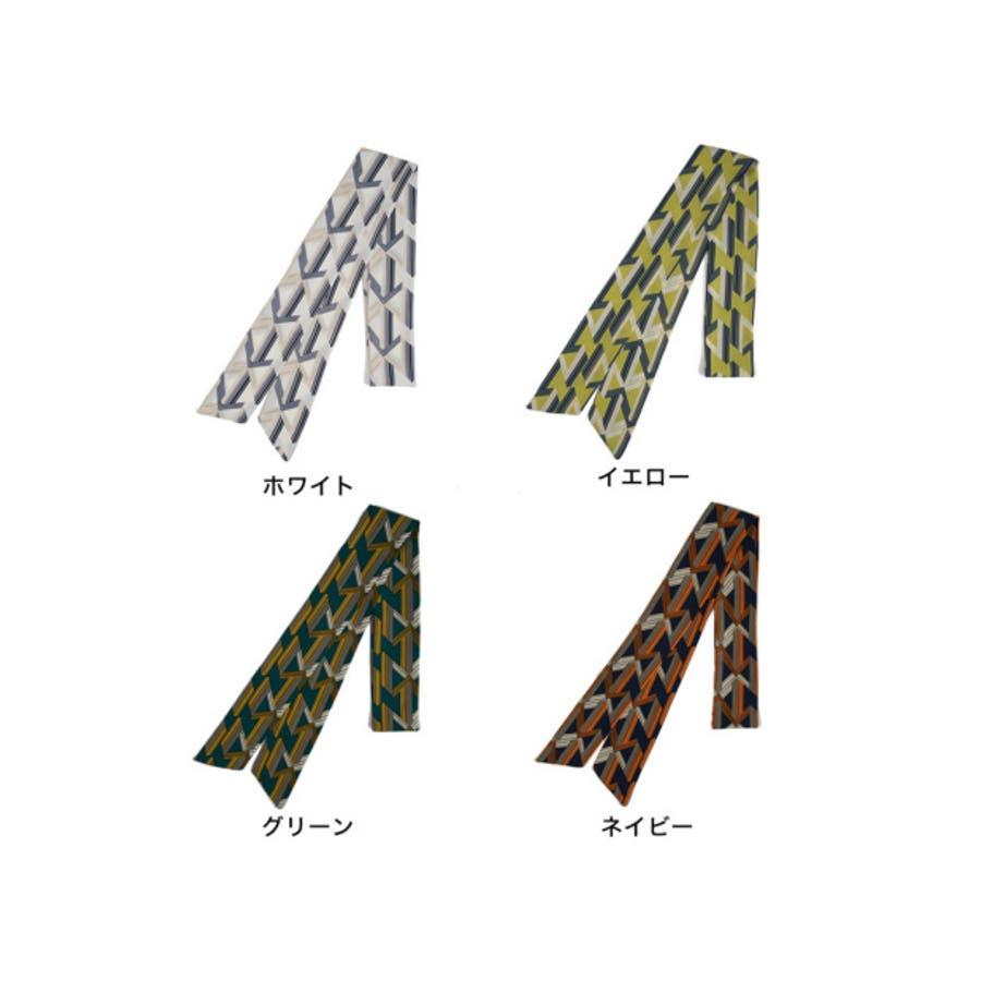 バッグや首もとのアクセントに マルチパターン柄スカーフ グッズ 9
