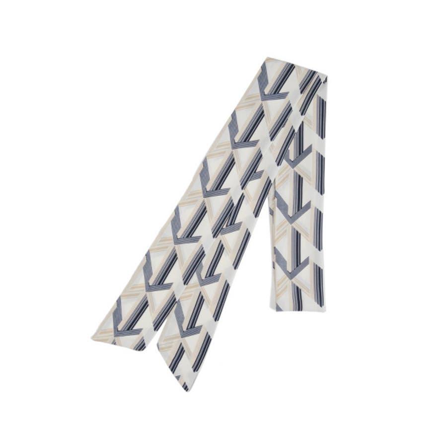 バッグや首もとのアクセントに マルチパターン柄スカーフ グッズ 10
