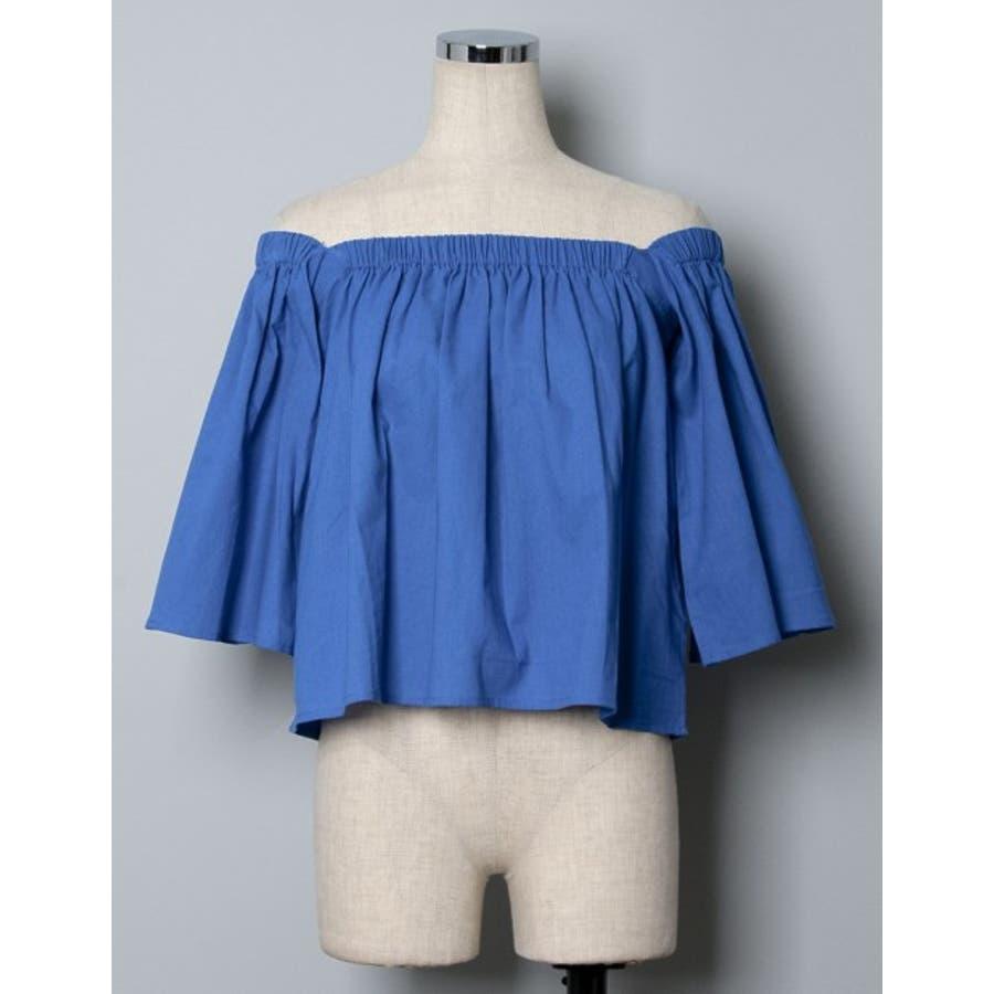 デ コ ル テ 美 人 上品な肌見せの法則 綿100%オフショルダートップス トップス/カットソー・Tシャツ 9