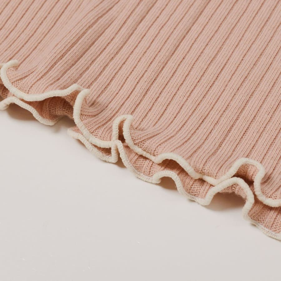 着こなしに華やかさをプラスするパイピングデザイン メロー加工タートルネックニットソートップス トップス/ニットトップス 10