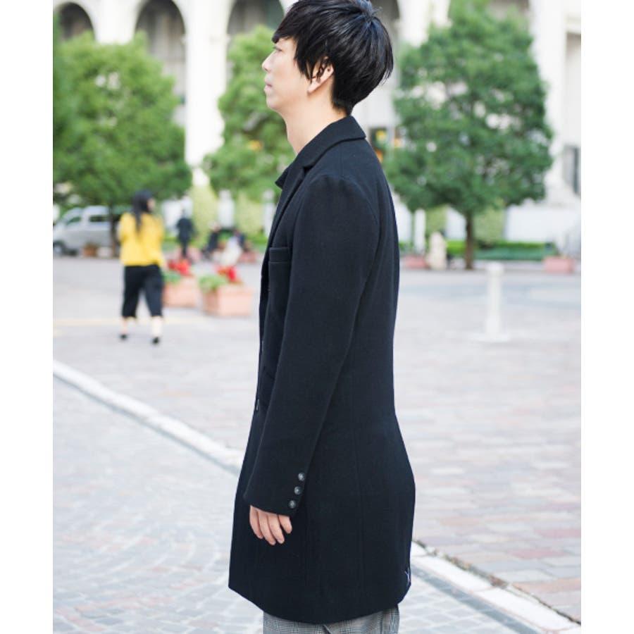 GGD GGD/国産メルトンチェスターコート コート 日本製 made in japan メンズ メンズファッション