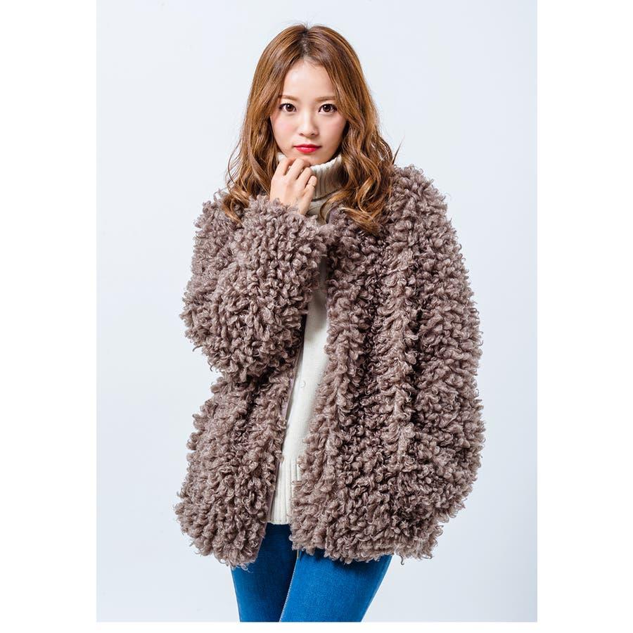 【GOGOSING】いとしいもこもこアウター☆レディースアウター もこもこアウター 可愛いアウター 冬 韓国ファッション