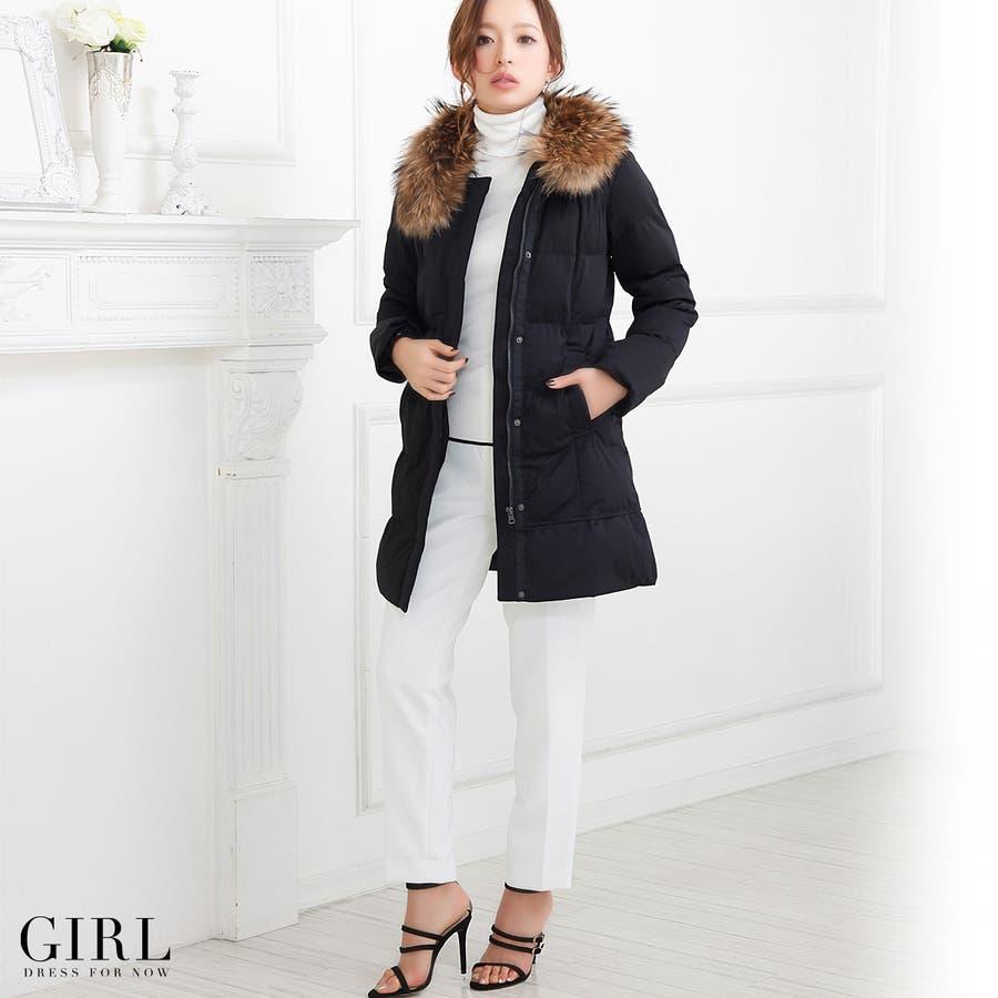 b5e2c1863a299 コート ダウンコート ウィンターコート 防寒 上着 羽織り レディース 長袖 袖付き ロングコート アウター ...