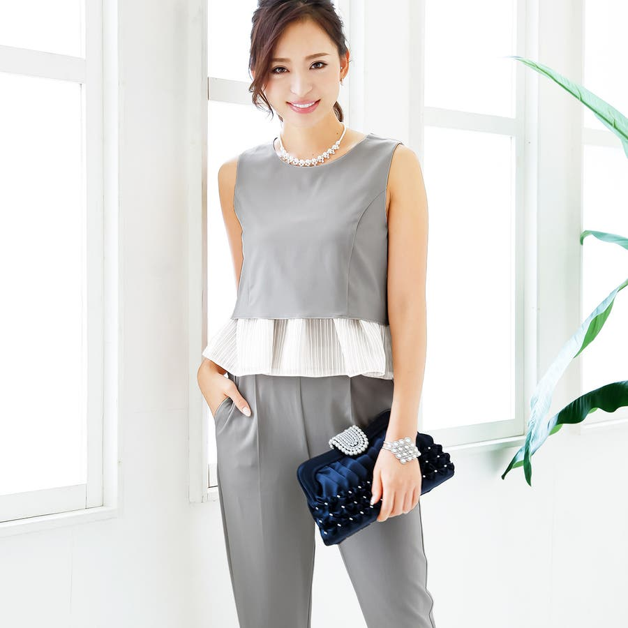 455be36dcee36 ... 大きいサイズ パーティドレス パンツスタイル パンツ セットアップ. マウスを合わせると画像を拡大できます. 画像一覧を見る · GIRLの ワンピース・ドレス ドレス