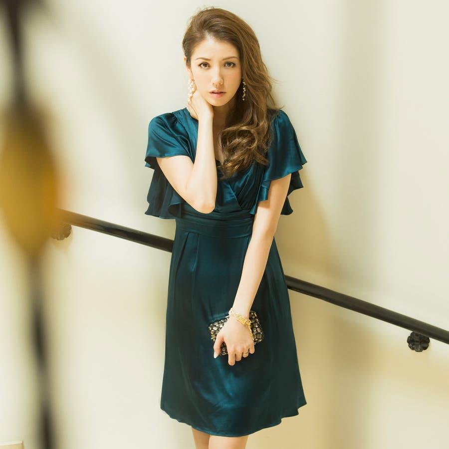 abde3ffbdbd0a モデル美香・伊藤ニーナ着用☆ルミナスドレスパーティパーティードレスワンピース大きいサイズ