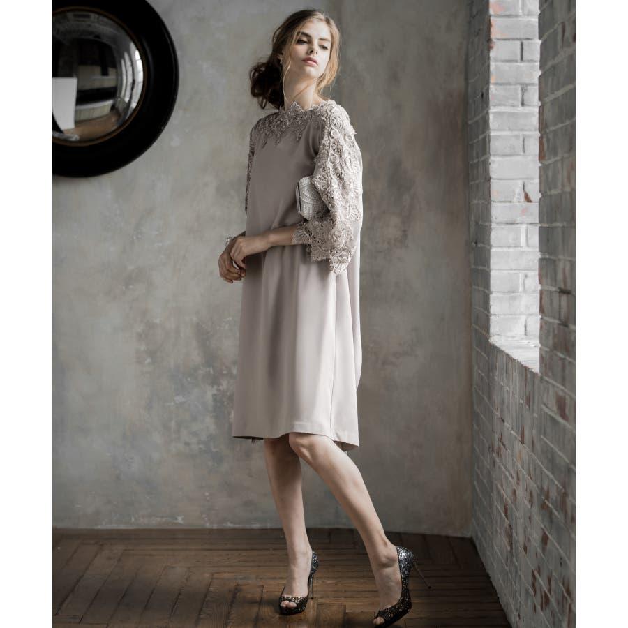bc79a7daf07c3 パーティードレス ドレス ワンピース 大きいサイズ 30代 20代 結婚式 ...