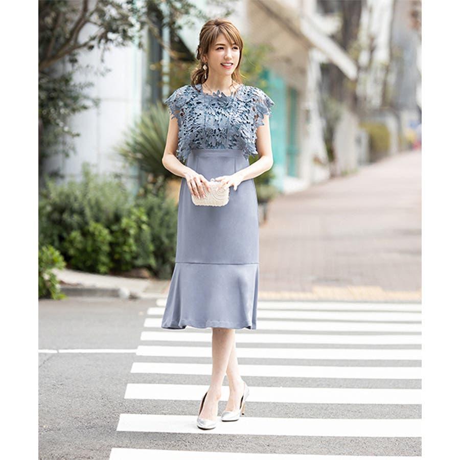 1f9e26d2f2d1a 結婚式 ワンピース パーティードレス ドレス ロング丈 ロング 袖あり ...