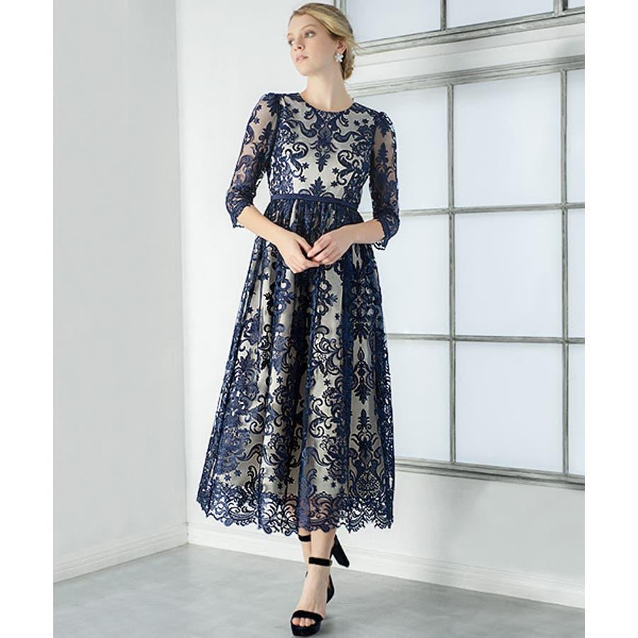b9a52afca6ad1 ドレス ワンピース パーティードレス 大きいサイズ お呼ばれ 他と被ら ...