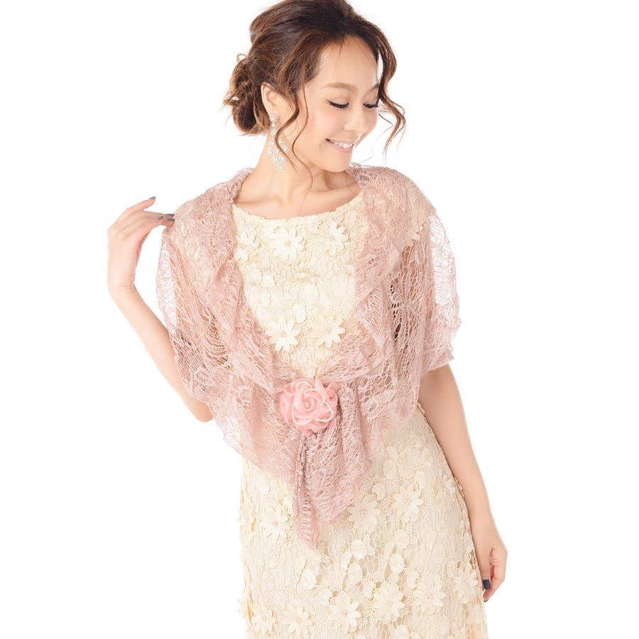 7b1f76ce1279e ショール ストール 結婚式 パーティー お呼ばれ 羽織り 羽織物 ...