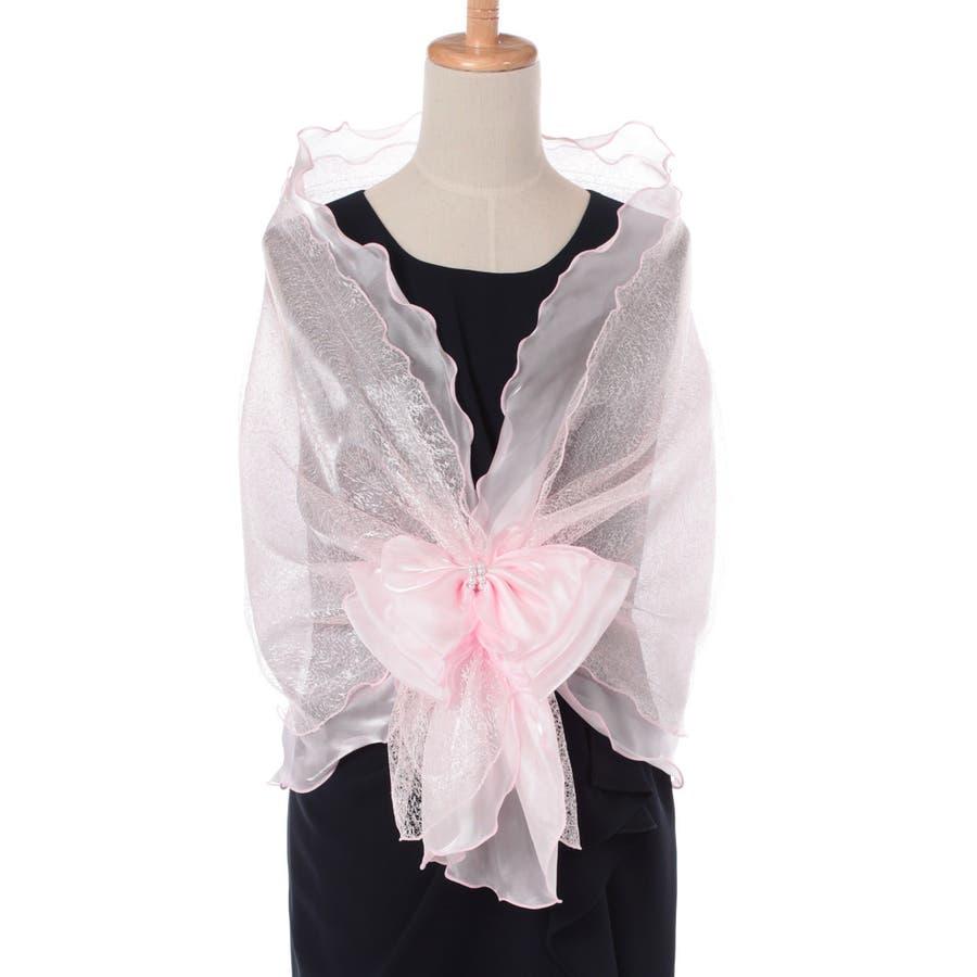 b4fbaf5b2e954 ショール ストール 結婚式 パーティー お呼ばれ 羽織り 羽織物 ...