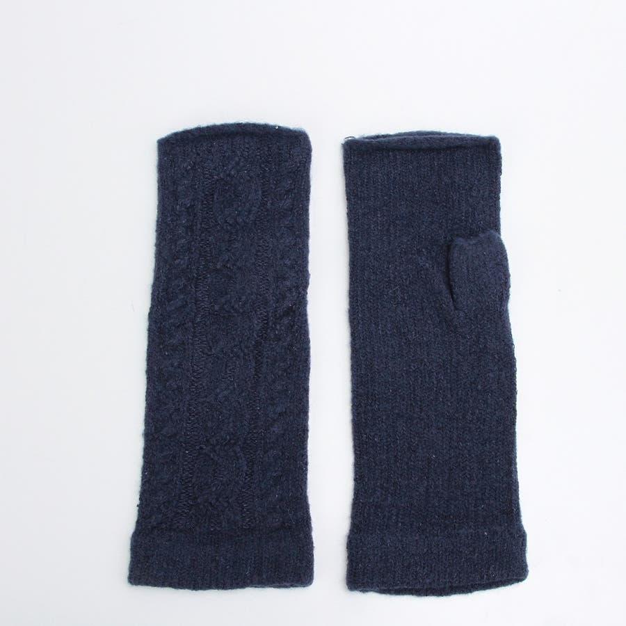 プレミアシュークリーム糸 高品質 日本製 ふわふわあったかフィット 裏側にシルク100%糸使用 レディースアームカバーゆったり長め 64
