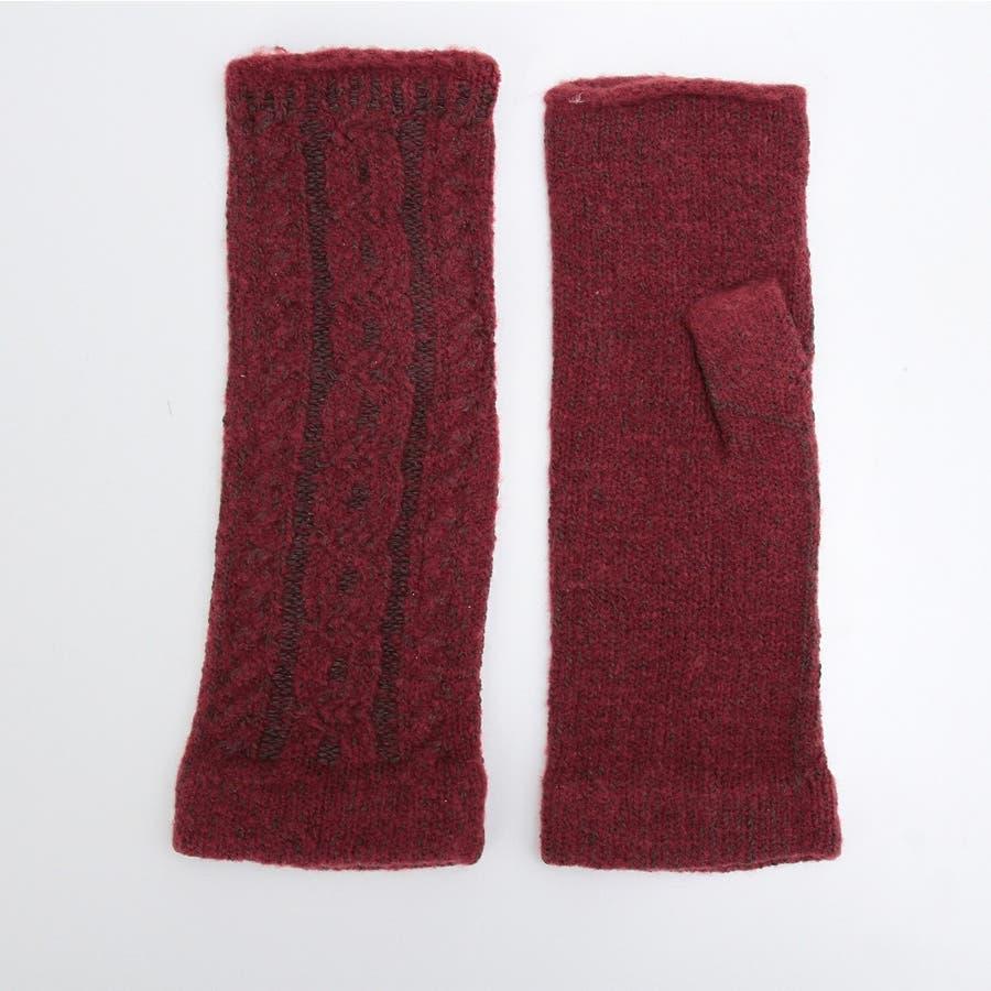 プレミアシュークリーム糸 高品質 日本製 ふわふわあったかフィット 裏側にシルク100%糸使用 レディースアームカバーゆったり長め 129