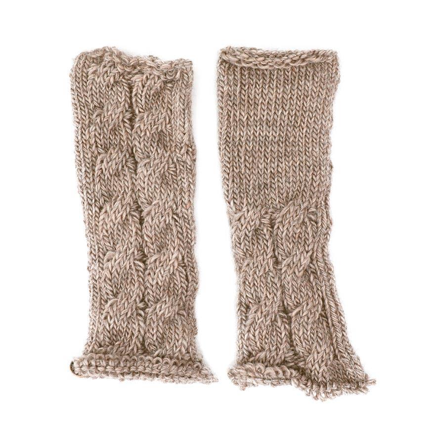 ウール100% てぶくろ屋さんが作ったウール100%もこもこ手編み風アームウォーマー 日本製 冷え取り ギフト プレゼント ひえとり 温活 あたたかい 手首 羊毛<アームカバー モコモコ あったか 手袋 暖かい ニット 誕生日プレゼント 女性 gift present ladies> 41