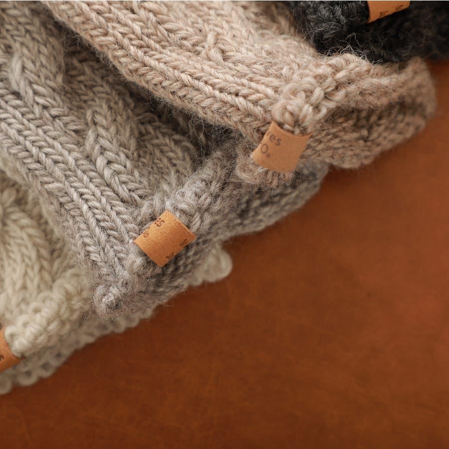 ウール100% てぶくろ屋さんが作ったウール100%もこもこ手編み風アームウォーマー 日本製 冷え取り ギフト プレゼント ひえとり 温活 あたたかい 手首 羊毛<アームカバー モコモコ あったか 手袋 暖かい ニット 誕生日プレゼント 女性 gift present ladies> 5