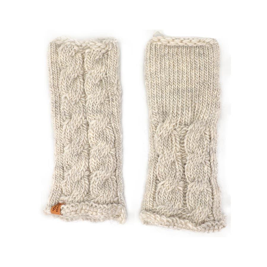 ウール100% てぶくろ屋さんが作ったウール100%もこもこ手編み風アームウォーマー 日本製 冷え取り ギフト プレゼント ひえとり 温活 あたたかい 手首 羊毛<アームカバー モコモコ あったか 手袋 暖かい ニット 誕生日プレゼント 女性 gift present ladies> 17