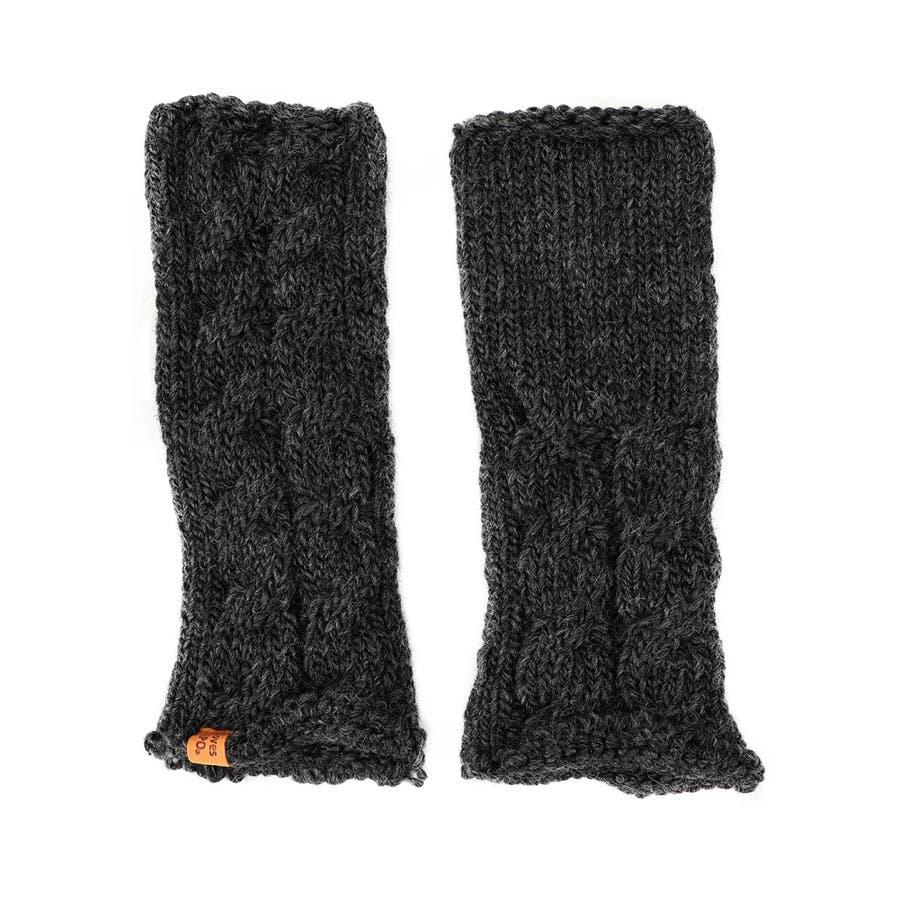 ウール100% てぶくろ屋さんが作ったウール100%もこもこ手編み風アームウォーマー 日本製 冷え取り ギフト プレゼント ひえとり 温活 あたたかい 手首 羊毛<アームカバー モコモコ あったか 手袋 暖かい ニット 誕生日プレゼント 女性 gift present ladies> 21