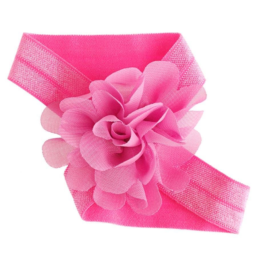 5530327528ee6 ベアフットサンダル 花 足飾り ベビー 人気 子供 かわいい アンクレット ...