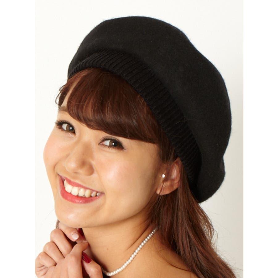 フェルトベレー帽 2