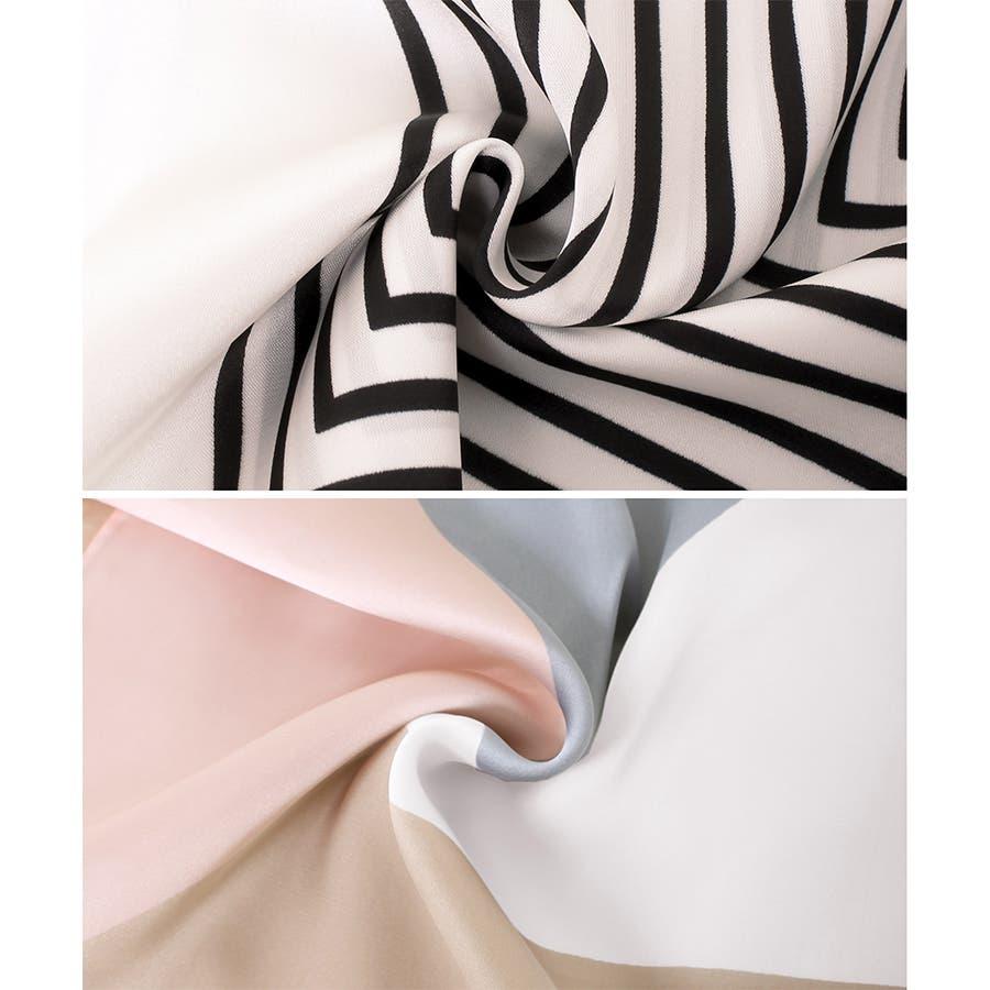 正方形 大判 スカーフ 10