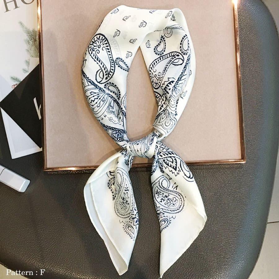 正方形 大判 スカーフ 8