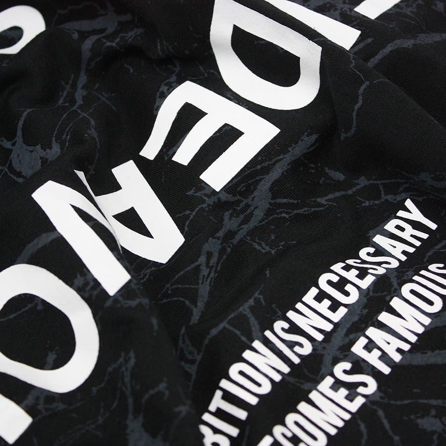 ロンT ワイド ビッグ シルエット マーブル 大理石 ストリート ロングスリーブ Tシャツ 大きいサイズ レディースOK 10